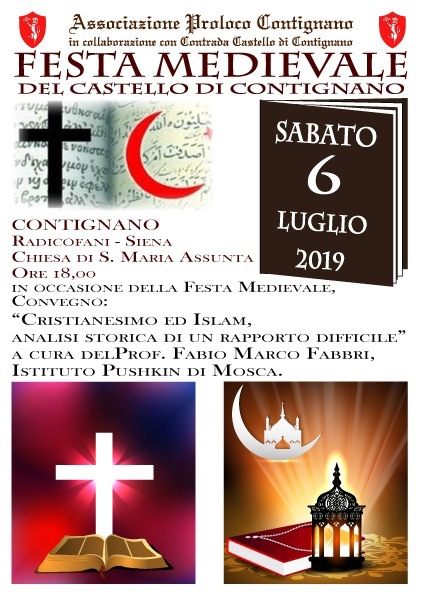 Locandina Festa Medievale - ed. 2019